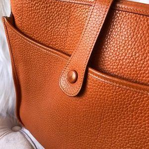 8cf7f8d8dd4 Hermes Bags | Evelyne Ii Gm Clemence Orange Crossbody Bag | Poshmark